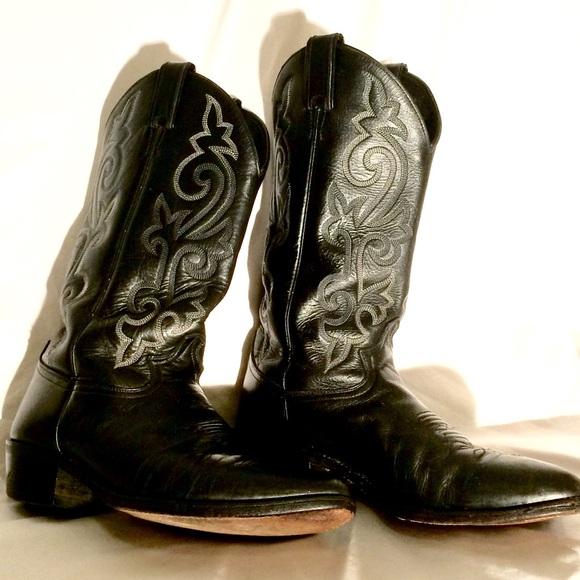 e7c3c737bdc Justin cowboy boots men's 10